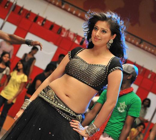 Lakshmi Rai at rehearsal
