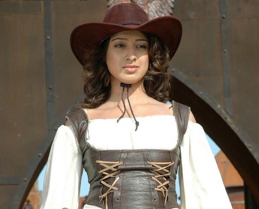 Lakshmi Rai in period costume