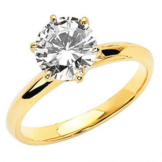Best gold engagement rings under $200 in 2014