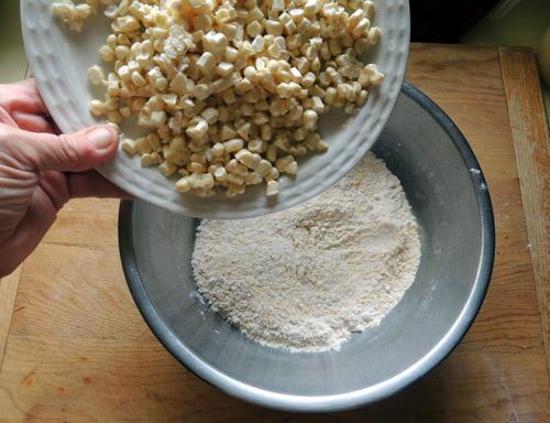 add corn kernels