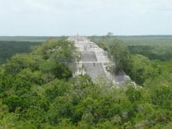 Pyramid at Calakmul
