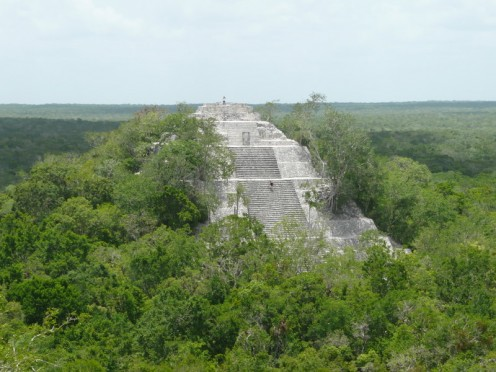 Pyramid at Calakmul