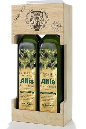 Greek extra virgin olive oil is of high quality and nutritious value and is necessary in a Greek village salad.