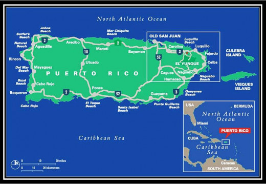 Puerto Rico main roads