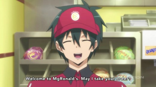 Lord Satan himself, working at a place which is definitely NOT McDonald's