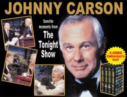 Johnny Carson is the most famous late night talk show host in history. His show was groundbreaking and many of the skits on the show were done at a spur of the moment.