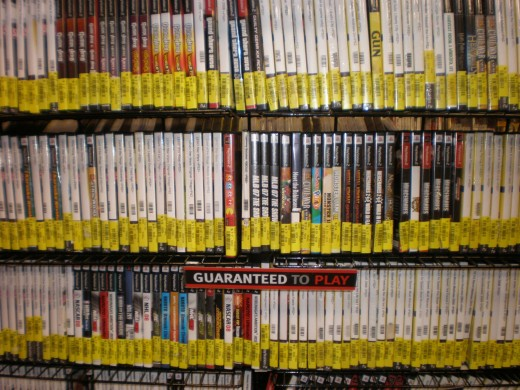 Used video games are usually the way to go if you want to buy a cheap video game.