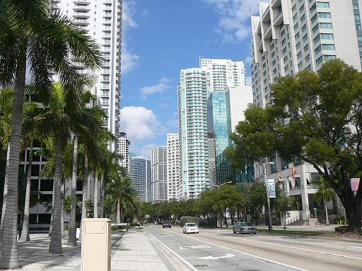 Best Places To Live In Miami, Brickell Avenue