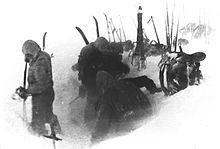 Dyatlov's team establishes camp on February 1,1959.