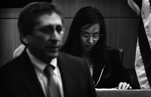 Mortal enemies, Prosecutor Juan Martinez and Jodi Arias