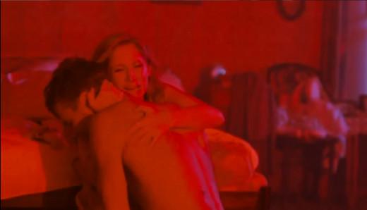"Lara Fabian and Max Barskih in ""Winter's Bouquet""."