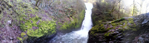 Another view of Bridal Veil Falls