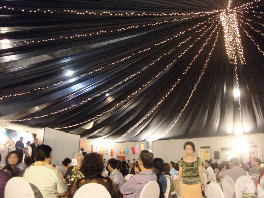 The PTCO's Songkran Thai Food Gala Buffet was held at the Rockwell Tent, Rockwell Center, Makati City.
