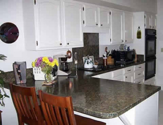 L Shaped Granite Countertop
