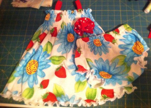 Smocked Sundress and Bloomers Pattern