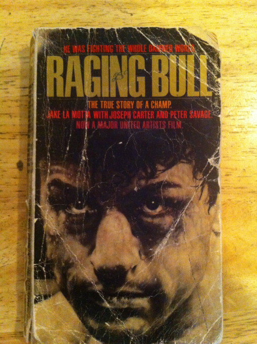 Raging Bull:  My Story focuses on the ups and downs in the life of Jay La Motta. The book tells of the Bronx Bull's battles with Sugar Ray Robinson, as well as his outside the ring battles too.