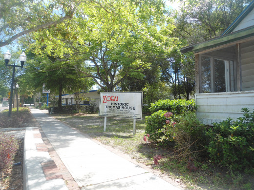 It is planned to be the Zora Neale Hurston museum.