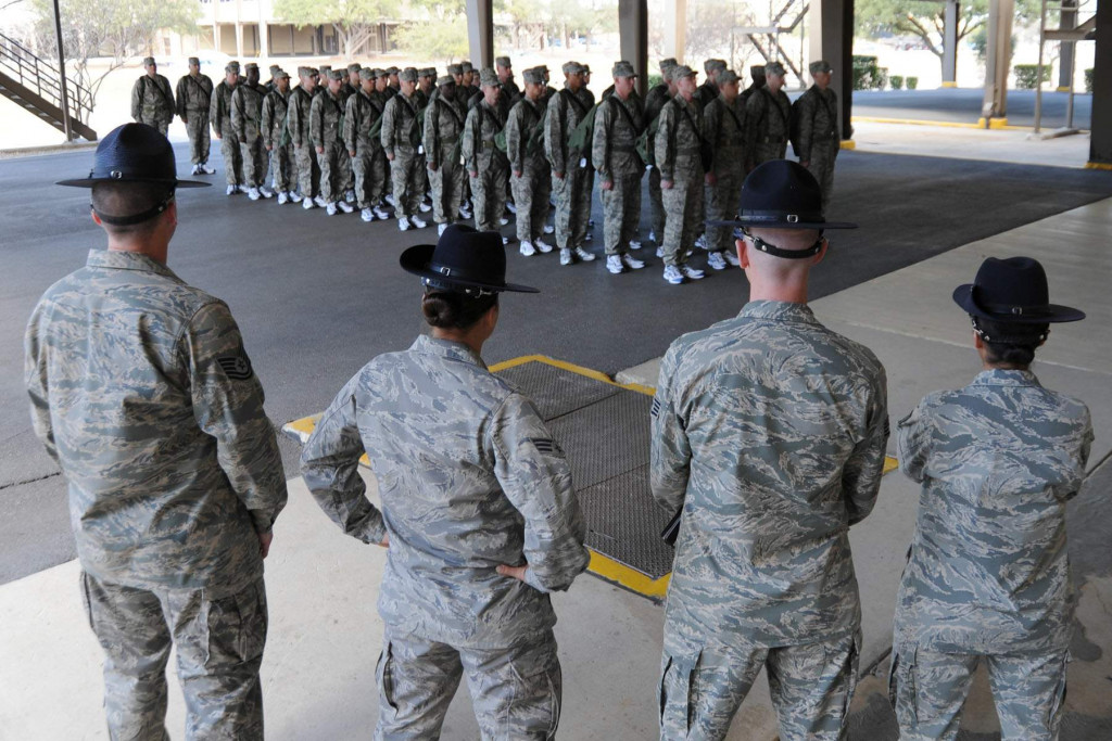 Surviving Basic Military Training - Air Force | HubPages | 1024 x 683 jpeg 170kB