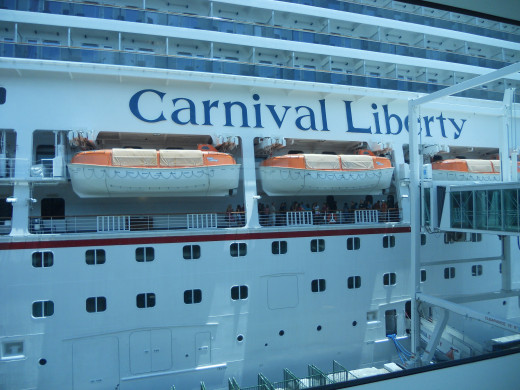 Carnival Liberty Boat