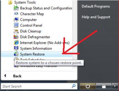 Don't know where System Restore is? Don't worry. Here's how to find it.