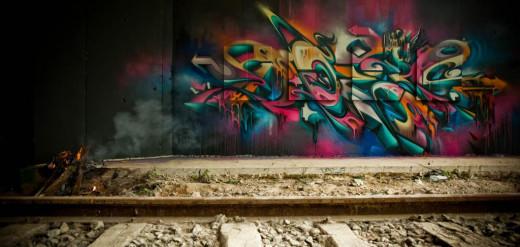Artist: Does // Ironlak Graffiti Supplies