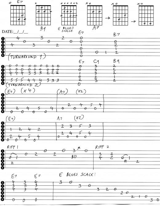Blues Riffs Tabs Related Keywords & Suggestions - Blues Riffs Tabs
