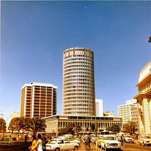 Hilton Hotel in Nairobi, Kenya.