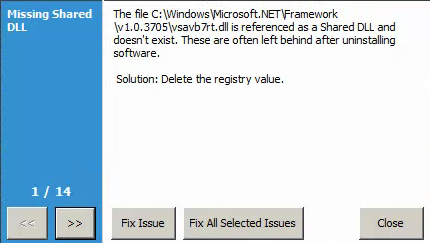 """4. Click """"Fix All Selected Issues""""."""
