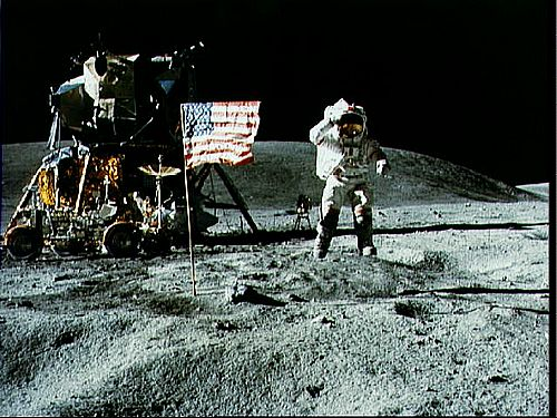 Apollo 11 Moonwalk in 1969. Who will be the first nurse on the moon?