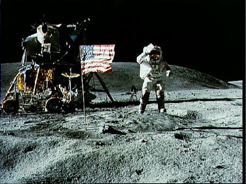 Apollo 11 Moonwalk. Who will be the first nurse on the moon?