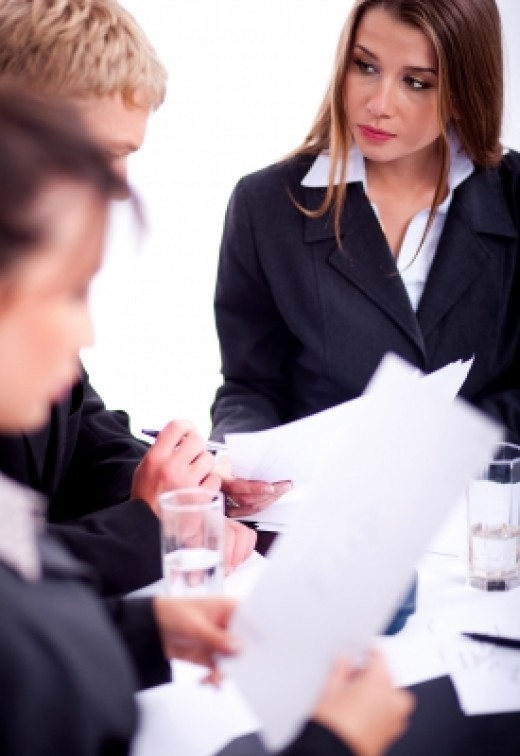 HR employees discuss investigations during staff meetings.  It's business, not gossip, but that's you they're talking about.