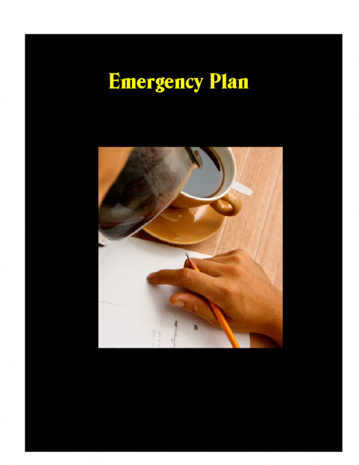 Plan for an emergency