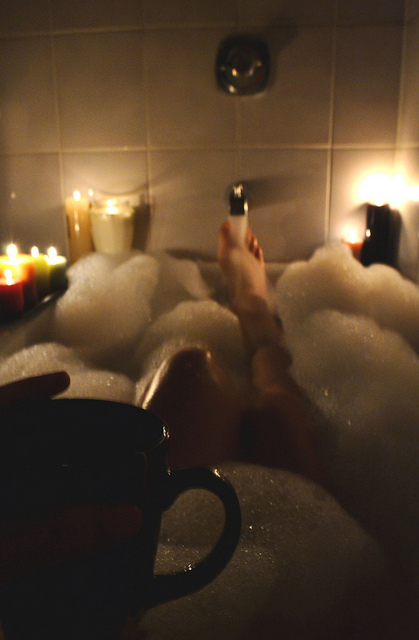 Relax with a Hot Bath