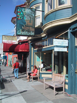 Cafe Gratitude is now in Los Angeles, Venice, Santa Cruz, and Berkeley