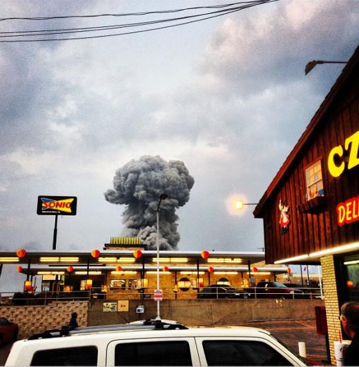 texas fertilizer plant explosion