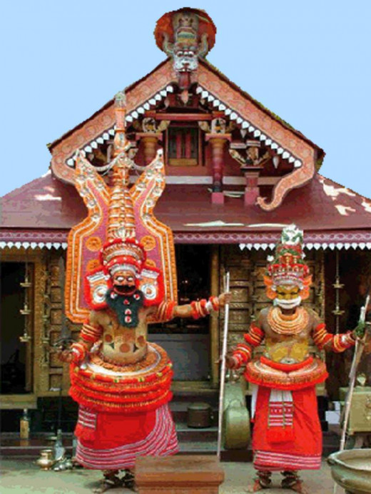 The two forms of Sri Muthappan