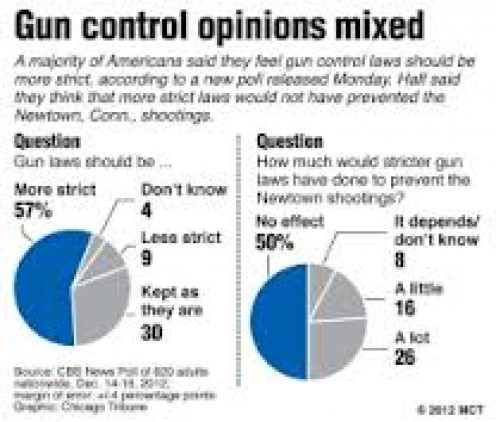 Opinions vary widely on the issue of Gun Control. Some people want guns banned and others do not see it that way at all.
