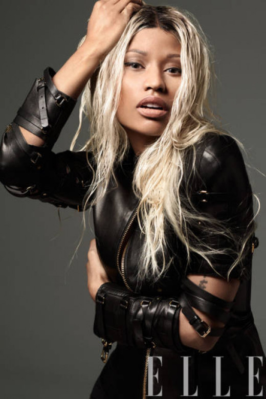 Nicki Minaj Elle April 2013 Cover Fashion Shoot