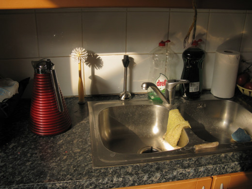 Clean Your Sink Naturally