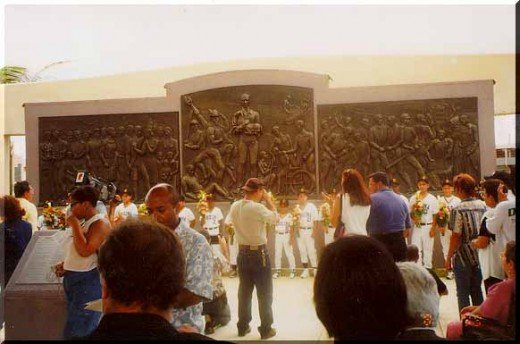 Roberto Clemente cenotaph