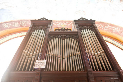 The Pipe Organ was constructed in 1894 and was now restored by the NCCA.