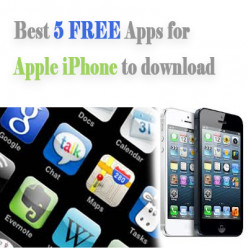 Best 5 FREE apps for Apple iPhone to download