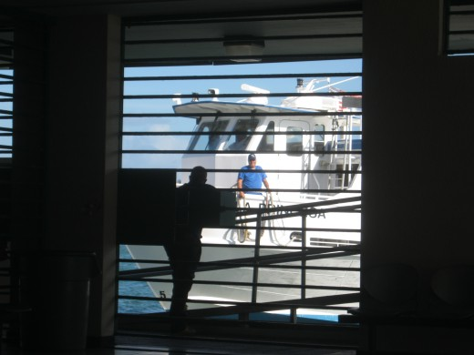 Cataño Ferry in San Juan