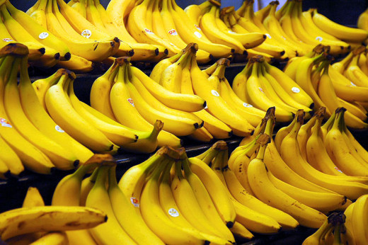 Bananas are one of the best sources of natural potassium.