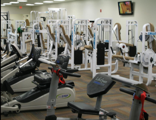 Senior Exercise Room in Sun City