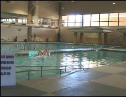 Swimming or pool walking.