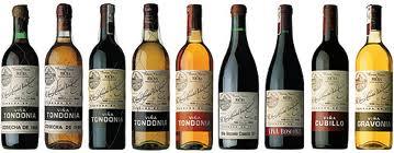 Spanish Rioja wines.