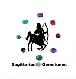 Sagittarius Gemstones : Amethyst, Malachite, Dioptase, Ruby, Turquoise, Sugilite, Garnet, Blue Lace Agate and Pink Tourmaline.