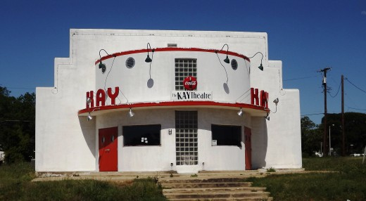 Kay Theater in Rockdale, TX