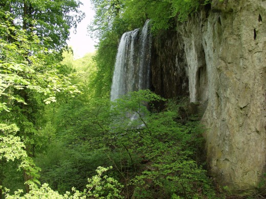 "Papuk also has rushing waterfalls and many beautiful walking trails.  This waterfall is nicknamed ""Grasshopper"" fall, or"